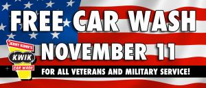 Kwik Veterans Day